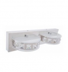 Lampara Arbotante LED 12W Luz Blanca  2 Luces