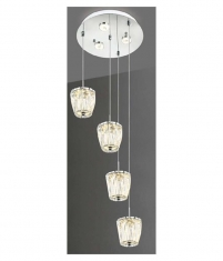 Lampara Colgante Virginis 4 Luces