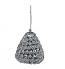 Lampara colgante Diamante 1 luz