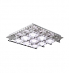 Plafón Led 9 luces